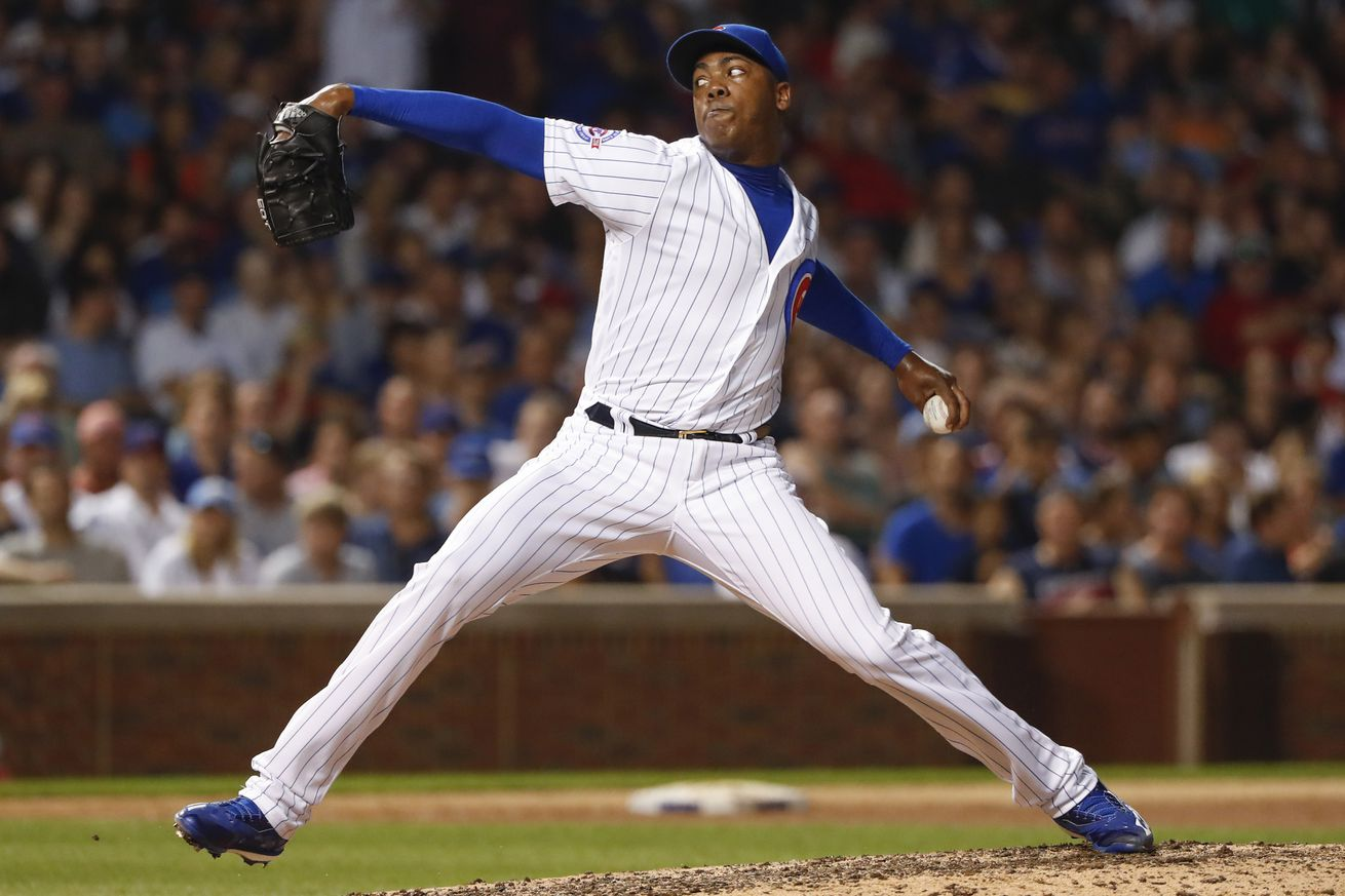 Cubs fire DJ for horrendous song selection during Aroldis Chapman's appearance