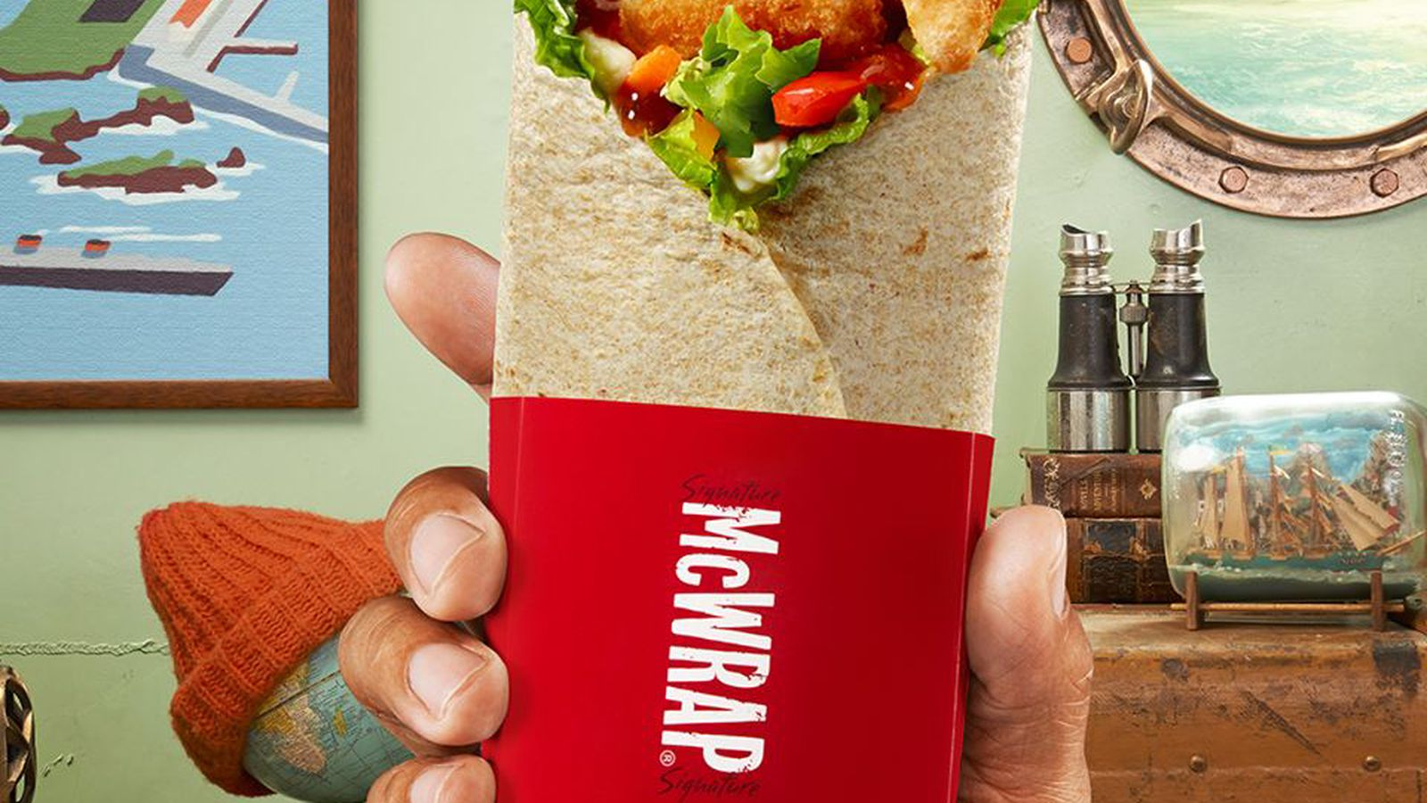 McDonald's Introduces Canada to Kale Breakfast Wraps; 7 ...