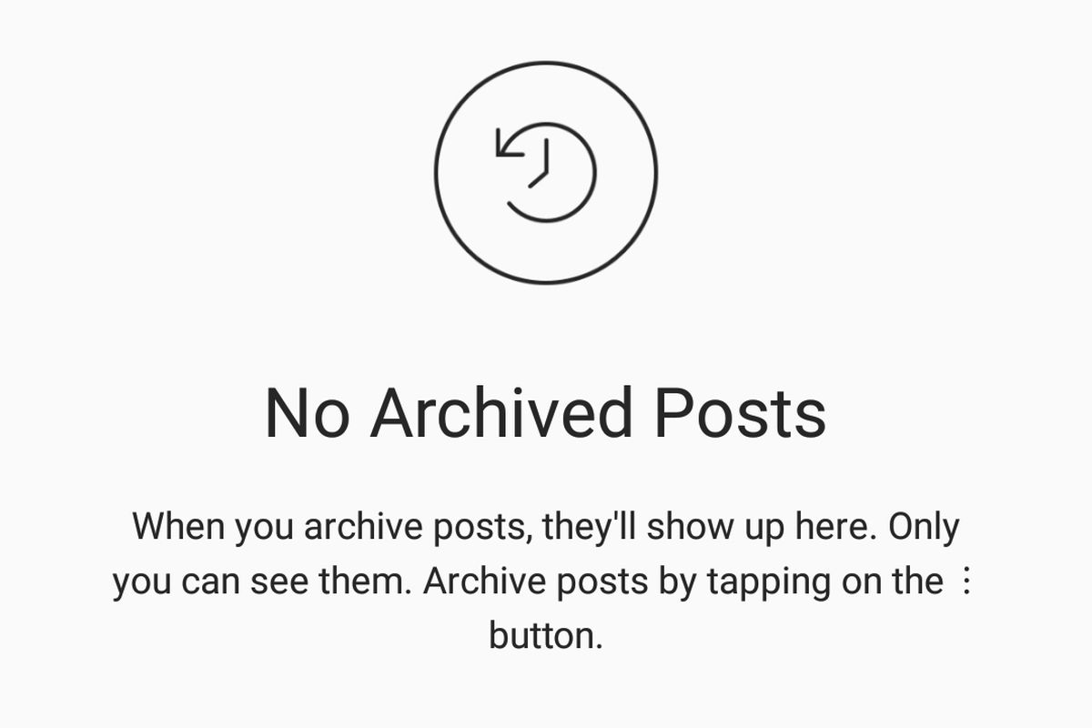 Instagram deters deletion with reversible