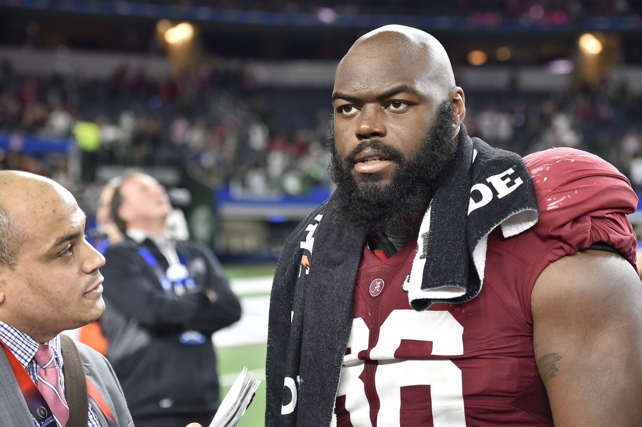 Nike authentic jerseys - A'Shawn Robinson Scouting Report, DT, Alabama. 2016 NFL Draft ...