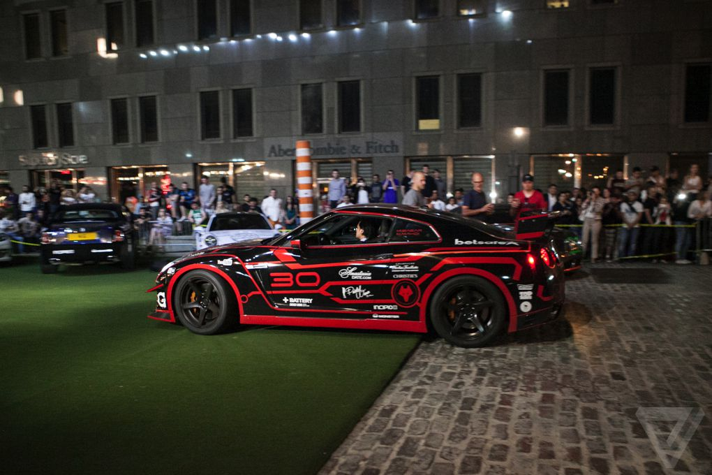 big money fast cars and a nyan cat this is the gumball 3000 the verge. Black Bedroom Furniture Sets. Home Design Ideas