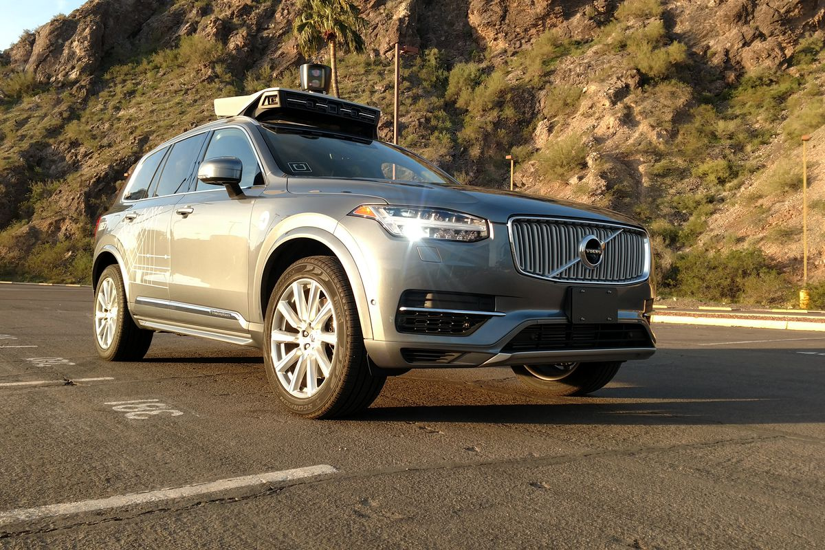 Self-driving Uber SUV hits vehicle in Arizona