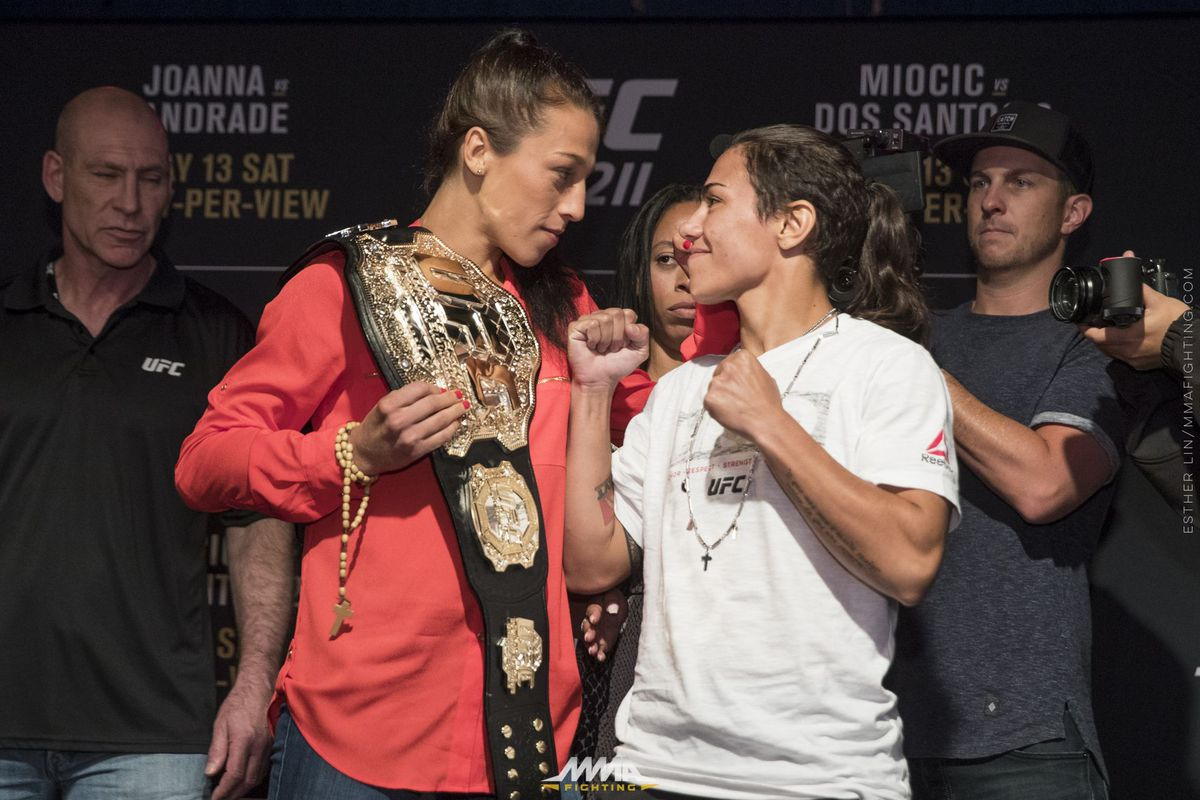 Joanna Jedrzejczyk records fifth UFC title defense against Jessica Andrade