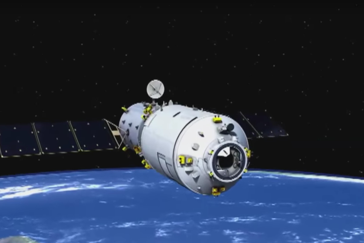 China's first cargo spacecraft docks with orbiting space lab