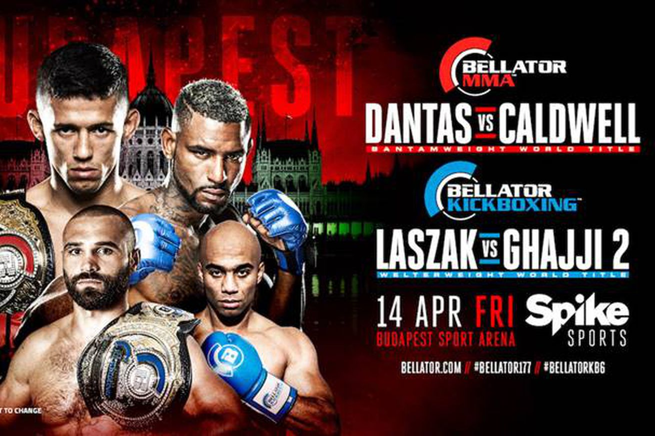 community news, Bellator 177: Dantas vs Caldwell headed to Budapest on April 14