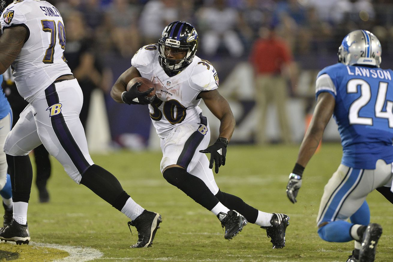 Ravens RB Kenneth Dixon will have his chance to shine