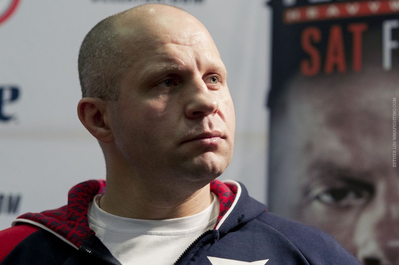 community news, Returning to spot of shocking loss means little to Fedor
