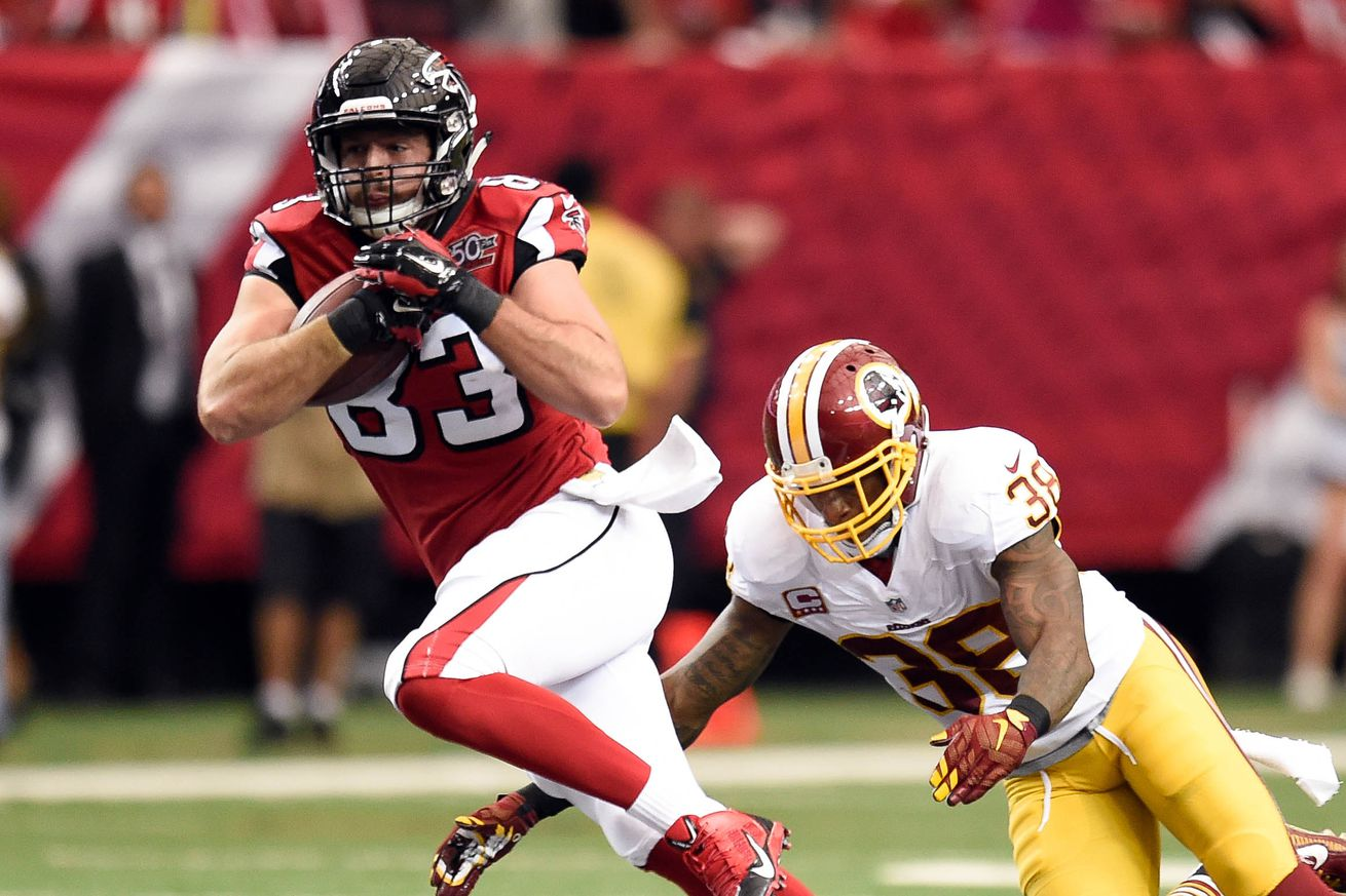 Jerseys NFL Outlet - Projecting the Falcons 2016 offense: Jacob Tamme - The Falcoholic