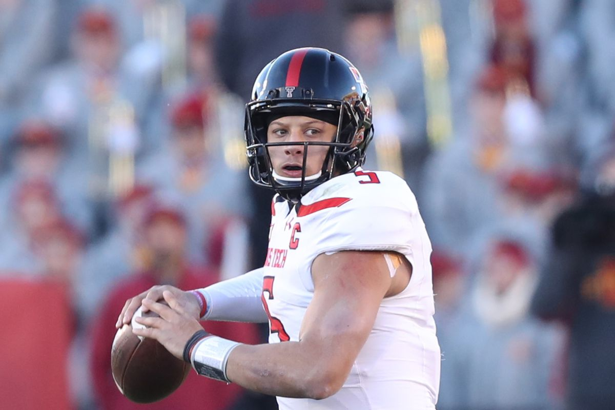 Patrick Mahomes could be a first round target for the Buffalo Bills
