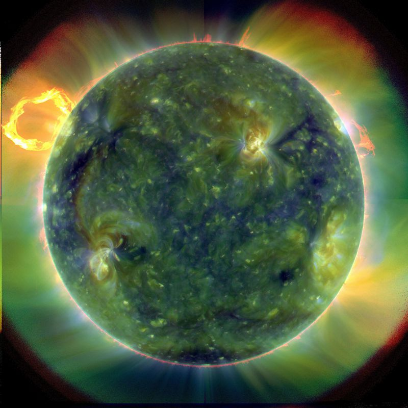 NASA's Solar Dynamics Observatory Pictures Released