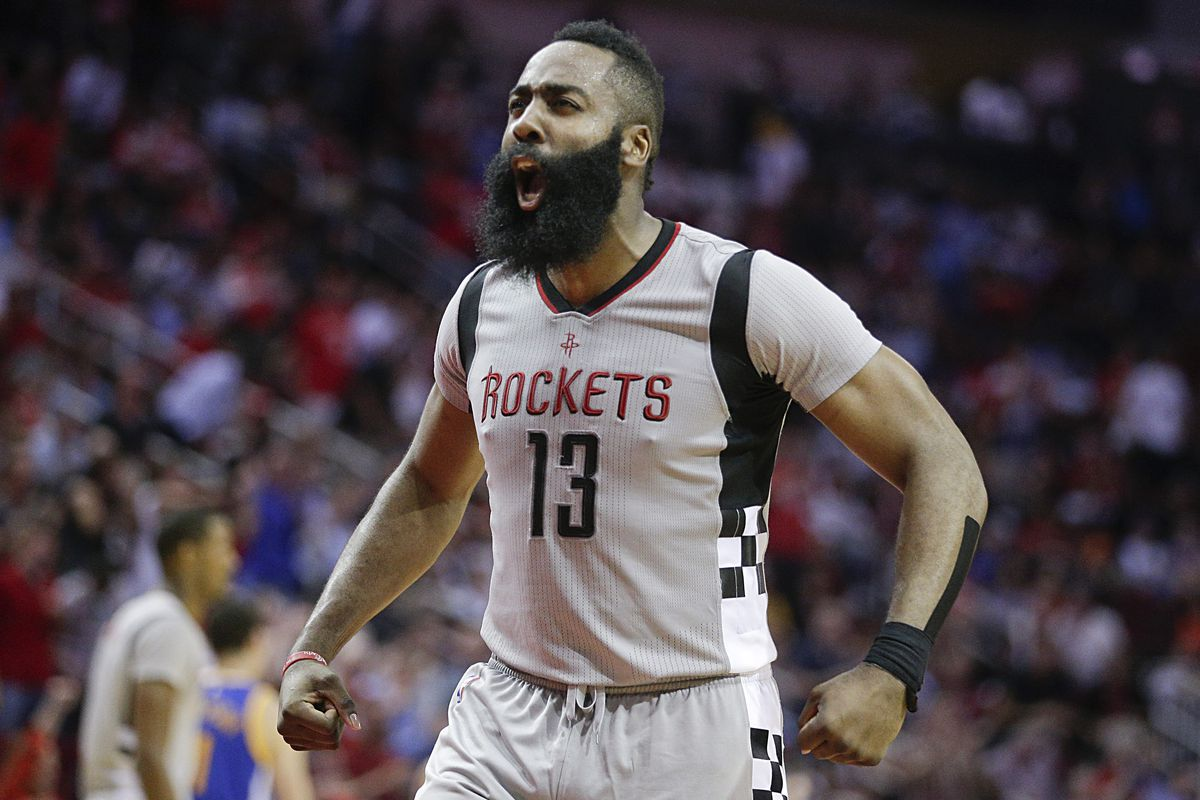 James Harden outdoes Russell Westbrook in Rockets' Game 1 victory