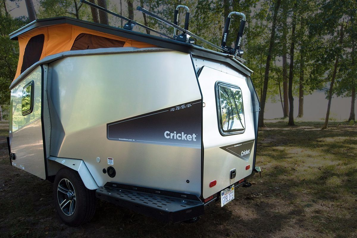 Lightweight Cricket Camper Trailer Sleeps Family Of 4 Curbed