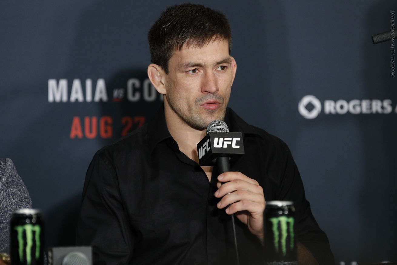 Demian Maia responds to Jorge Masvidal, hopes Dana White keeps his promise