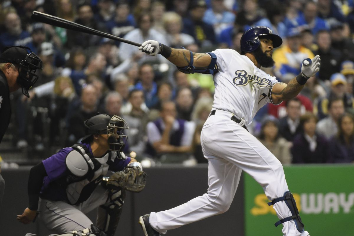 Heyman | The secret behind Eric Thames early success with Brewers