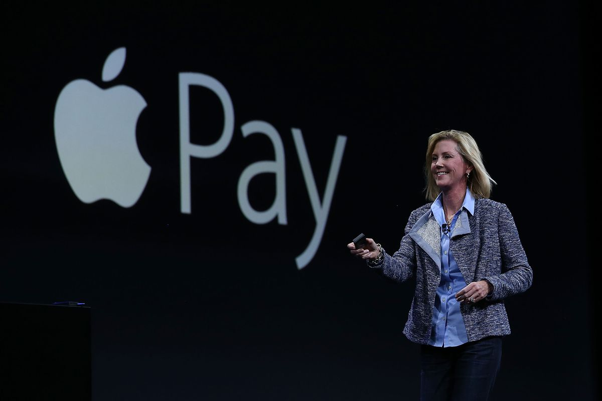 Apple Pay VP Jennifer Bailey        Justin Sullivan  Getty