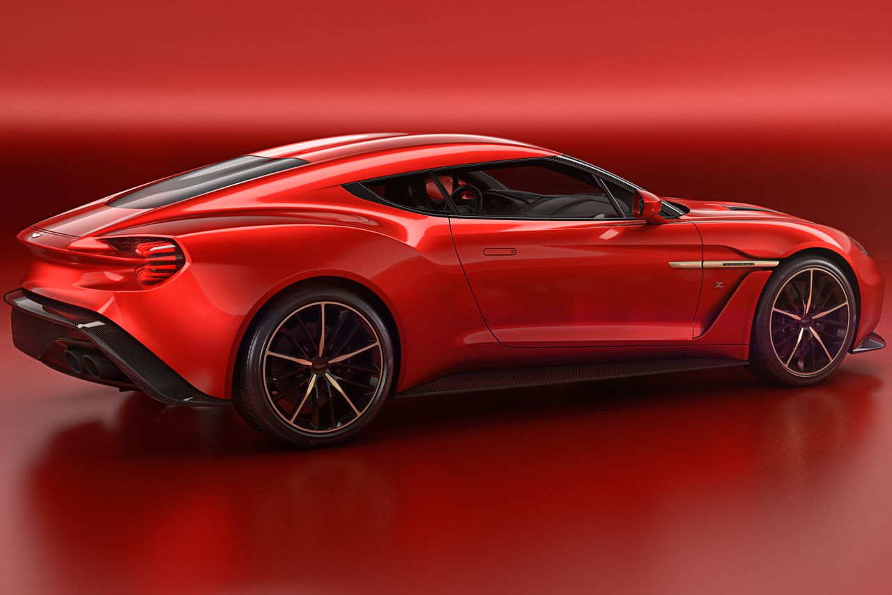 aston martin 39 s most beautiful car in years is the vanquish zagato the verge. Black Bedroom Furniture Sets. Home Design Ideas