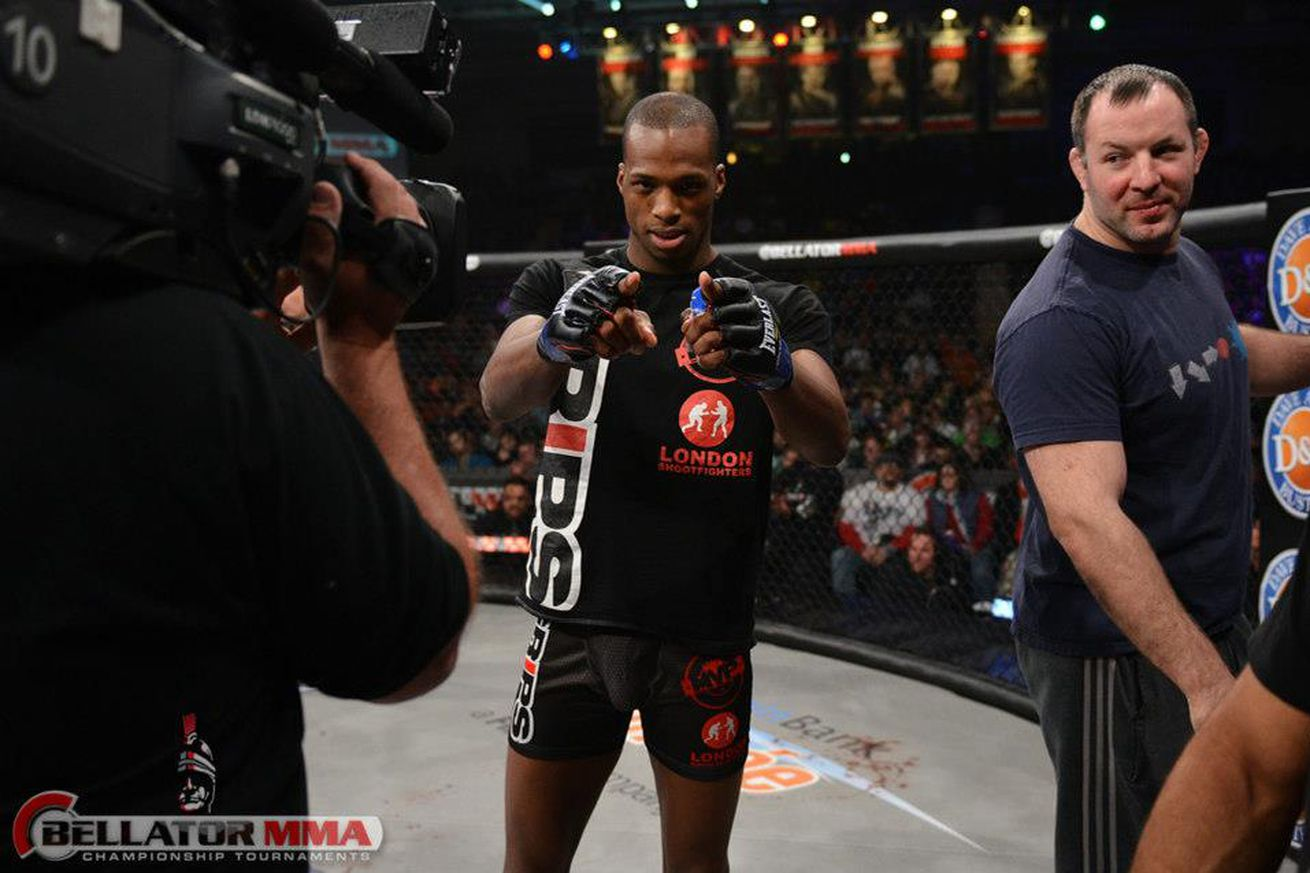 Michael Page says long stare at Jeremie Holloway after submission was pay back for earlier antics