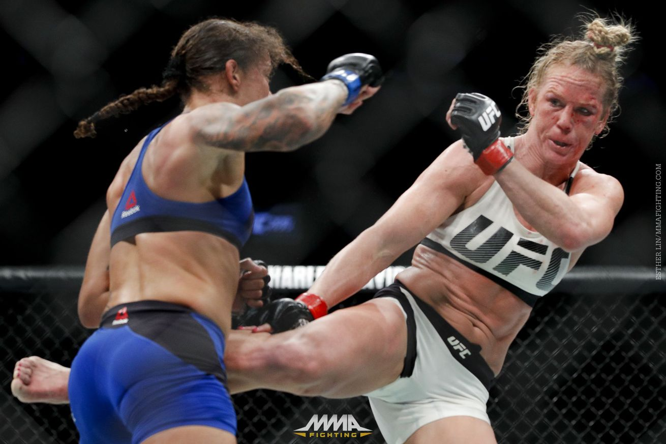 Holly Holm sums up Germaine de Randamie's controversial win at UFC 208: 'That's not a real victory'