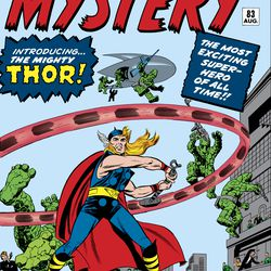 Journey into Mystery 1952 #83 / Comic book / Published 1 August 1962<br> © 2017 MARVEL<br><br><br><br>