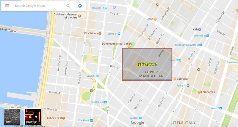 1º de abril já começou: Google Maps lança a 'Ms. PAC-Maps'