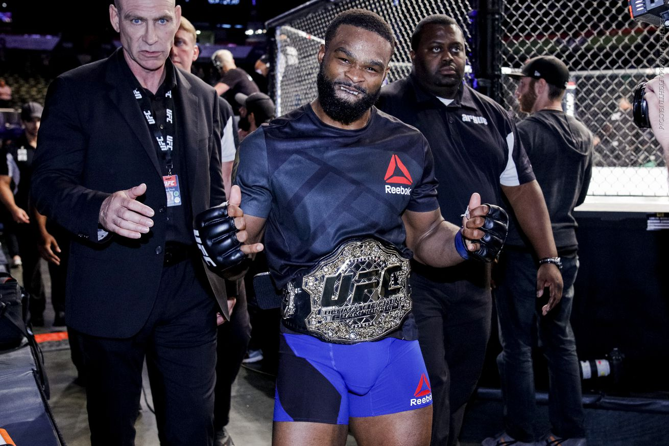 community news, Tyron Woodley wants 'money fights' against Nick Diaz, Georges St Pierre next