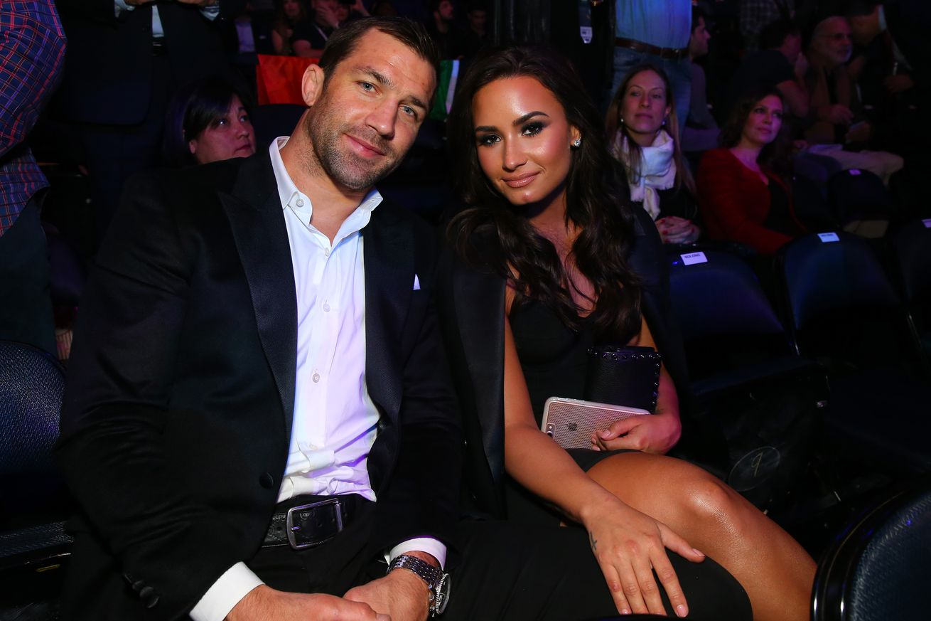 Demi Lovato dumps Luke Rockhold for Bellator 'Bomba'