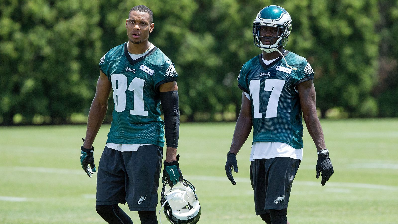 Nike jerseys for Cheap - Eagles News: Jordan Matthews is already serving as a mentor to NFL ...
