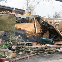 Over 250 homes were affected by Tuesday's Tornado. Homes closest to Chef Menteur Highway endured the most damage. As of now, there is no estimate on the total property damage.