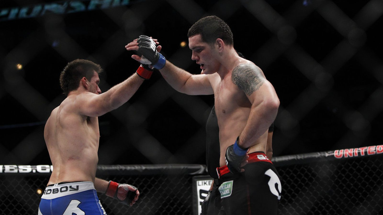 Chris Weidman Wallpaper Chris Weidman's Body Was