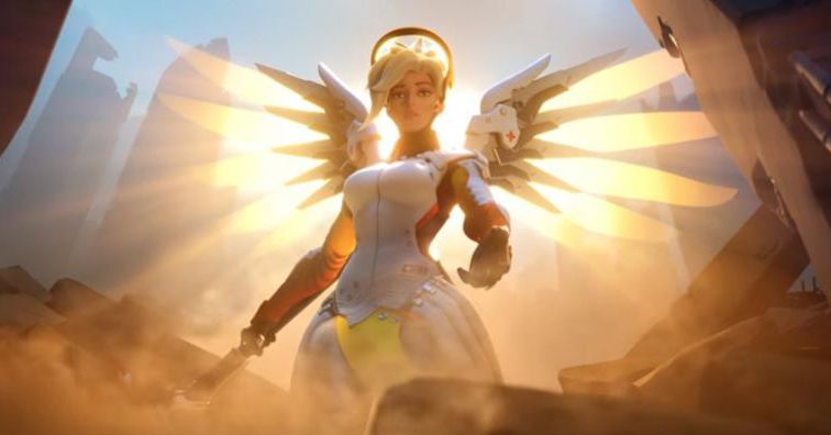 Fit For Less >> Mercy chain rez bug plagues Overwatch games - Heroes Never Die