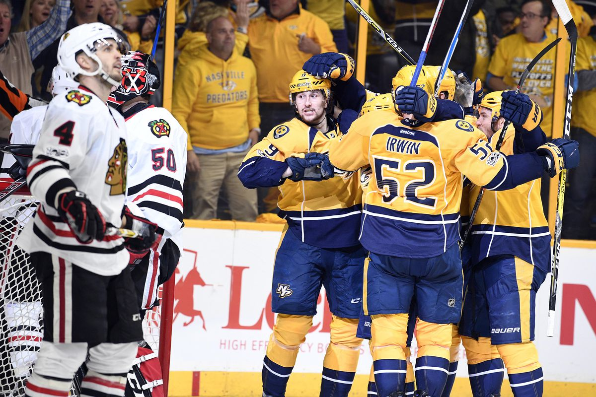 Blackhawks aim to get around blocked shots in Game 3