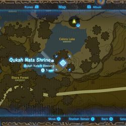 Zelda Breath Of The Wild Guide Qukah Nata Shrine A Song Of Storms