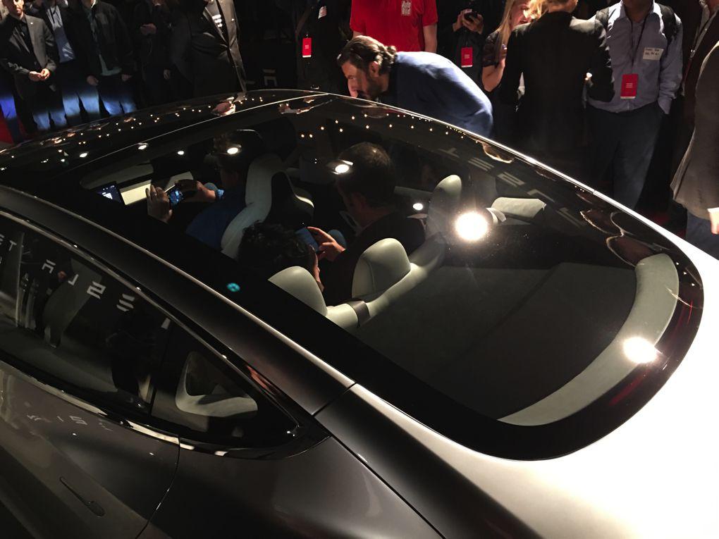 Tesla Model 3 First Ride Inside Elon Musk S Dream Car