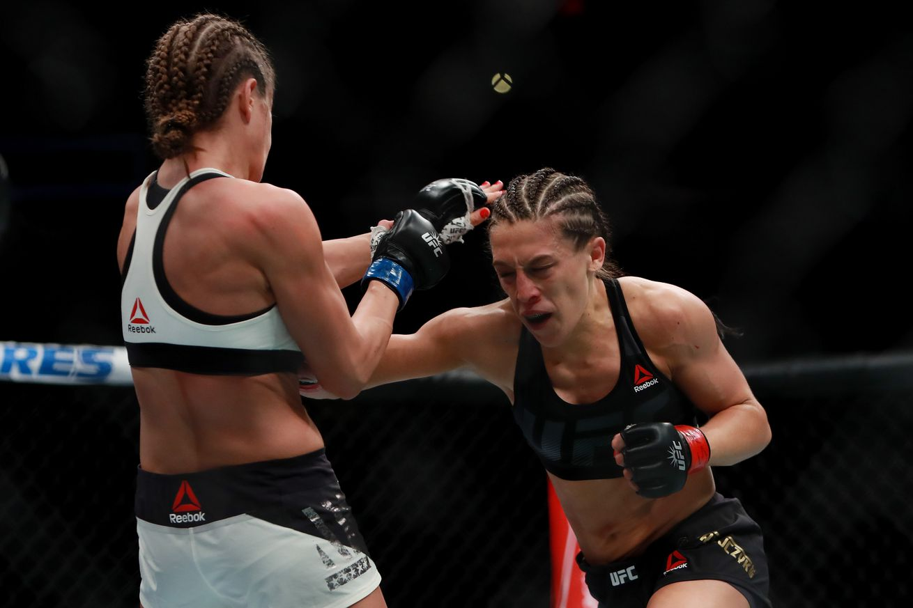 community news, Joanna Jedrzejczyk ready for Jessica Andrade at UFC 211    'I can submit her and I can knock her out'
