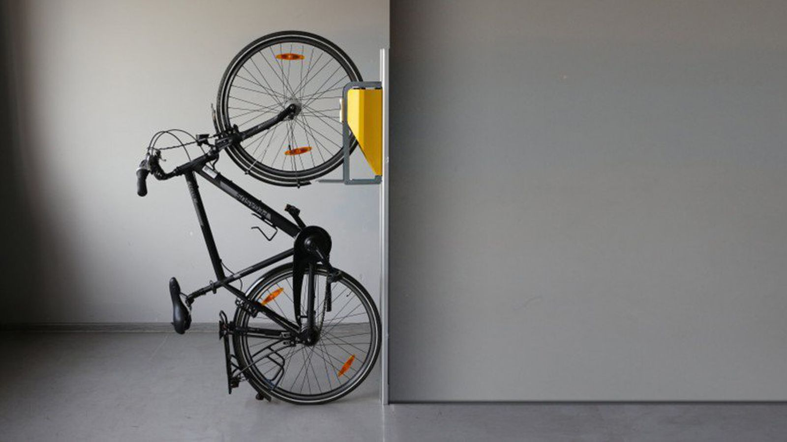 Philadelphia design home 2016 new bike rack offers small space storage solution curbed college - Bike storage small space design ...