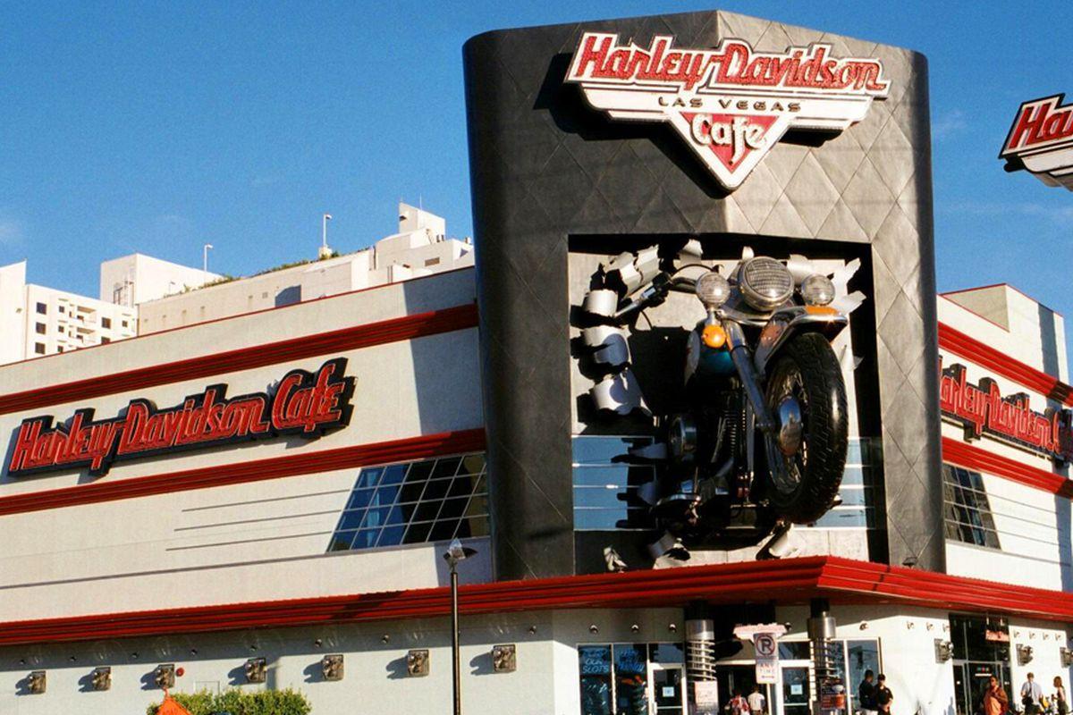 Harley Davidson Cafe Las Vegas Strip Menu