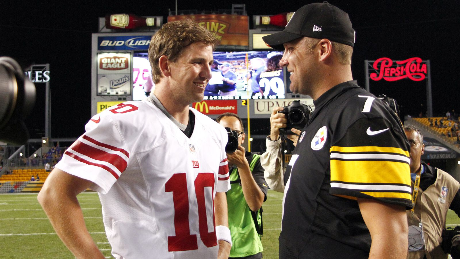 Image result for eli manning and obj vs big ben and ab