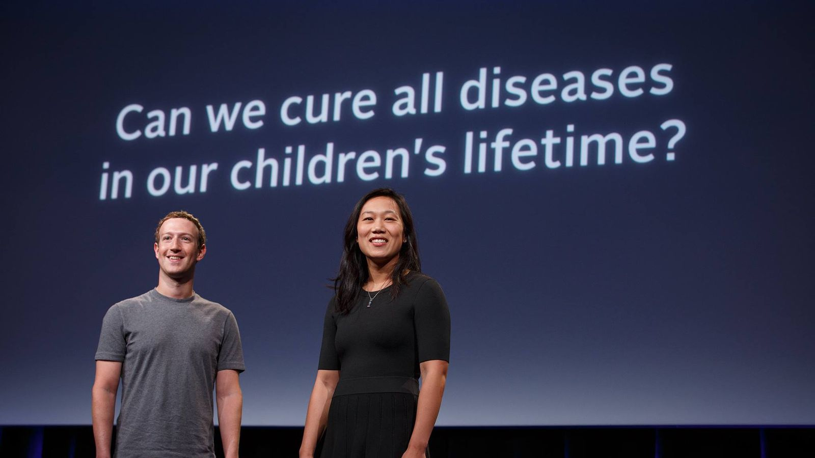 Facebook's Mark Zuckerberg and Priscilla Chan pledge $3 billion to cure all diseases