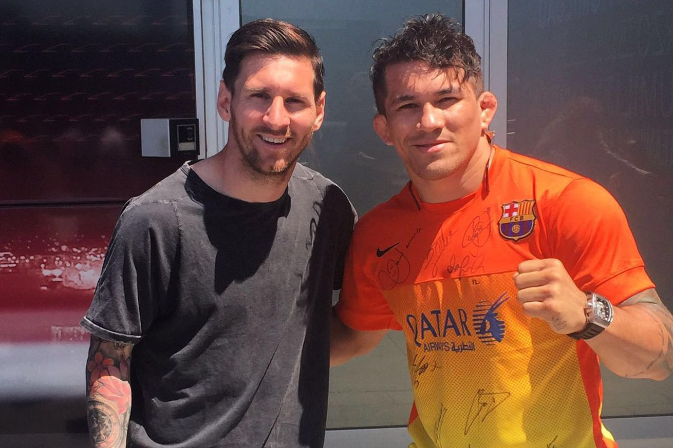 community news, Soccer superstar Lionel Messi declined to face off with ex UFC fighter Ronys Torres