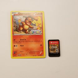 A Pokémon card is twice the size a Switch cart. Here's hoping we see a Pokémon game on the Switch soon enough.