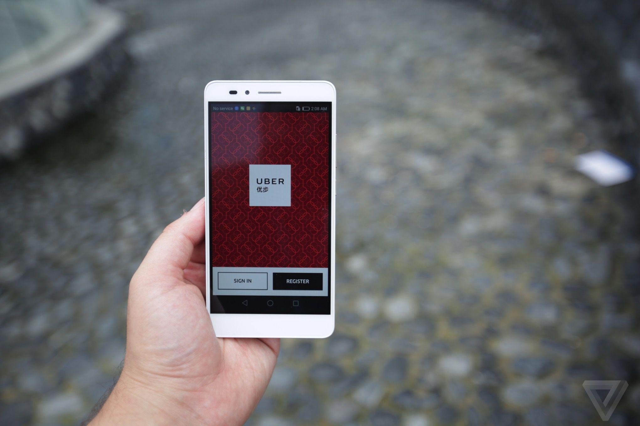 Chinese Uber App