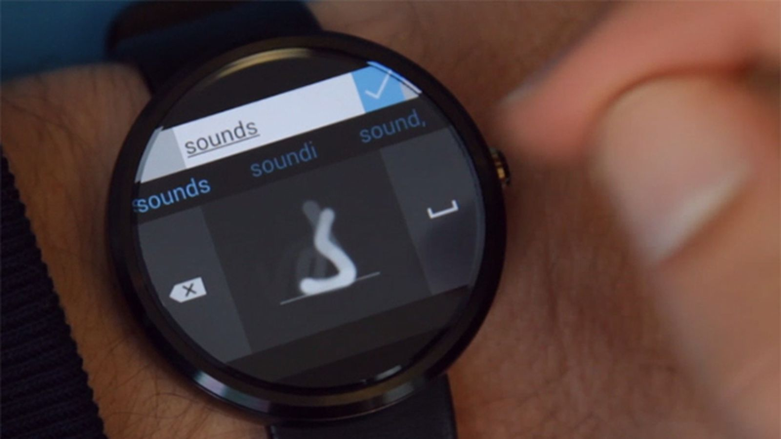 Microsoft's Android Wear keyboard lets you draw letters on ...