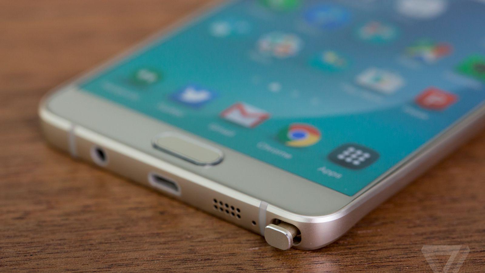 Samsung On Galaxy Note 5 39 S Broken Stylus Slot Read The