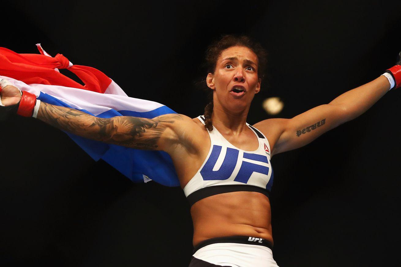Midnight Mania! Watch UFC 208 headliner Germaine De Randamie knock a man out