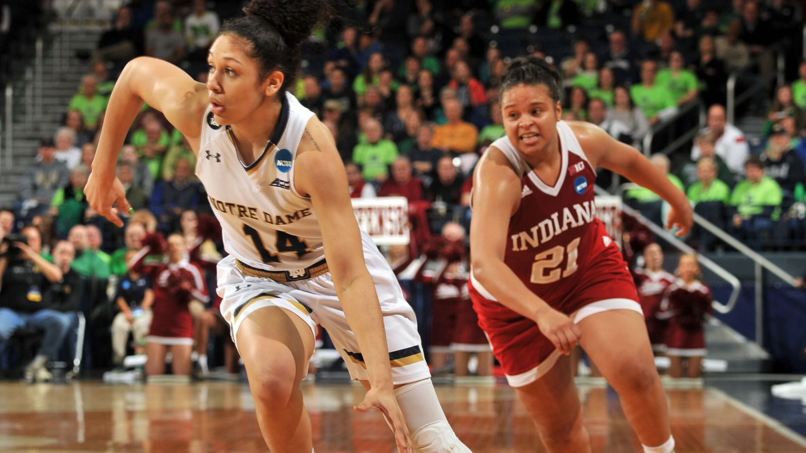 Notre Dame Women Advance To Basketball Sweet 16: Notre Dame Women's Basketball Gets By Indiana, Advances To