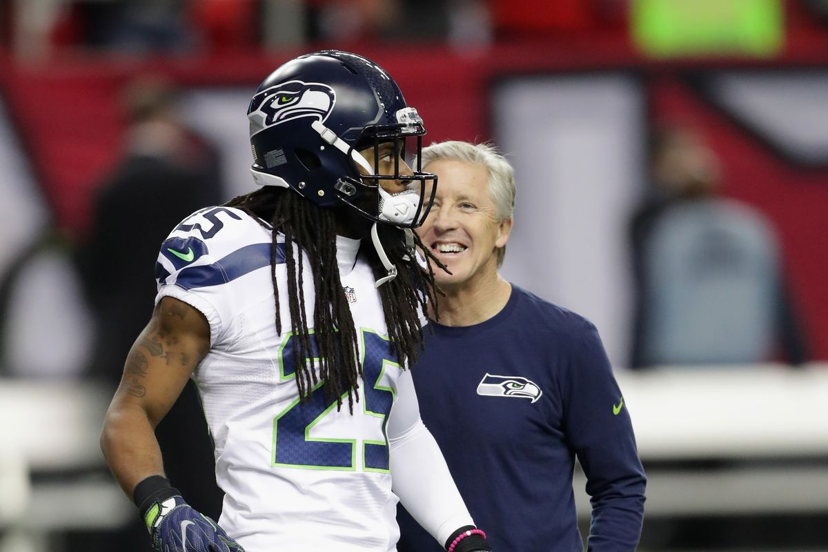 Seattle Seahawks: CB Richard Sherman won't be traded, says Carroll