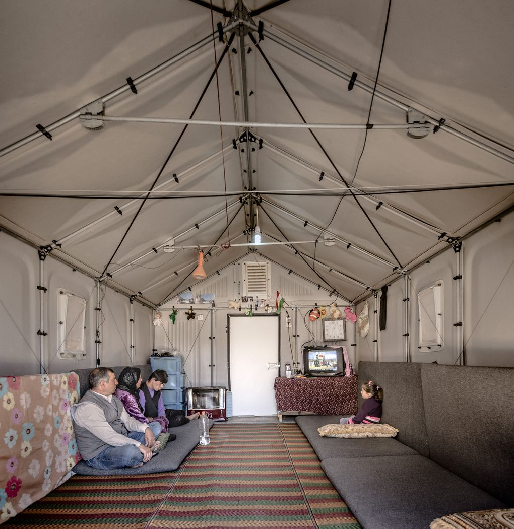 IKEA flat-pack refugee shelter