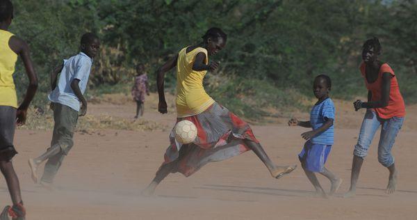 Refugees in Kenya's Dadaab camp.