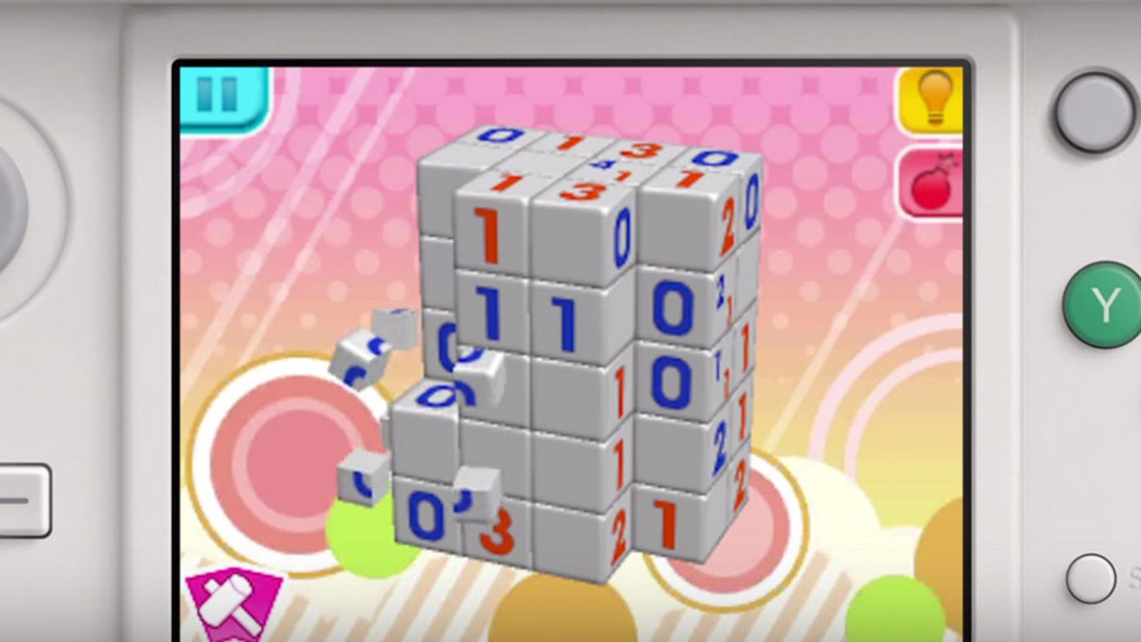 Picross 3D Round 2 for 3DS comes to North America | Polygon