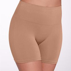 """Yummie by Heather <a href=""""https://www.barenecessities.com/yummie-by-heather-thomson-nina-seamlessly-shaped-everyday-shaping-shortie-yt5-004_product.htm?pf_id=YummieTummieYT5004"""">Mid-Rise Short</a>, from $12"""